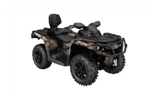 2018 Can-Am Outlander™ MAX XT™ 650 - Break-Up Country Camo®