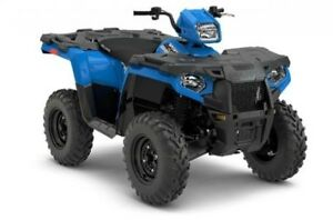 2018 Polaris Industries Sportsman® 450 H.O. - Velocity Blue