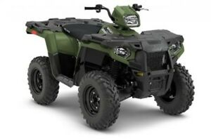 2018 Polaris Industries Sportsman® 450 H.O. - Sage Green