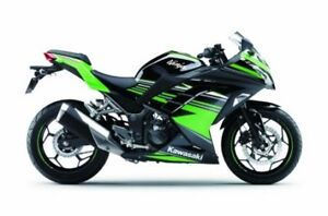 2017 Kawasaki Ninja 300 ABS Kawasaki Racing Team Edition