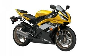 2016 Yamaha YZF-R6 - 60th Anniversary Yellow & Black