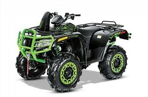 2016 Arctic Cat Mud Pro 700 Limited EPS