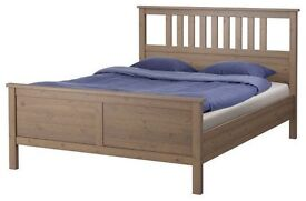 HEMNES IKEA Double bed frame in great condition