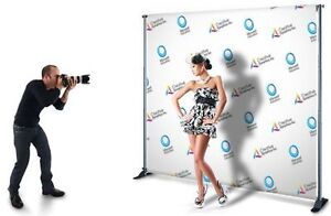 CUSTOM PRINTED BACKDROP BANNER STEP AND REPEAT
