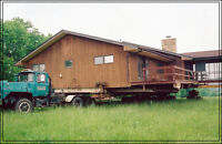 Building a new house?  We will move Bungalow from your lot