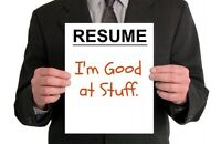 Improve Your Job Search w/New Resume!