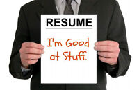Resume Revision, Job Hunting & Interview Coaching