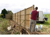 TM property maintenance specialists in all types of fencing and wall building free quotes