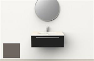 Meuble lavabo de marque RUBI avec lavabo blanc inclus