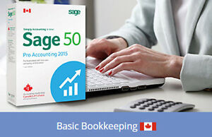 Bookkeeping and Sage 50 Accounting Online Course- Start today! Yellowknife Northwest Territories image 1