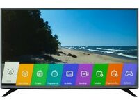 "LG 50"" ;Internet TV quke sale £235"