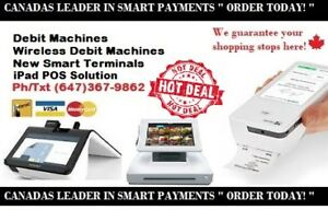 DEBIT MACHINES POS SYSTEMS NEW SMART PAYMENT TERMINALS