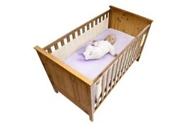 Safe Dreams 2-sided Cot Wrap
