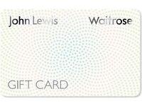 John Lewis Gift card £100 for £90