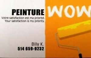 PEINTURE WOW: Peintre Professionel (Rive-Nord) Estimé GRATUIT