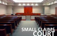 Landlord / Tenant / Paralegal / Small Claims Court Service