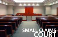 Small Claims Court Paralegal | Legal Services | 416-629-9545