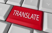 Traduction de qualité / Traducteur Français-Anglais (Rive-Sud)