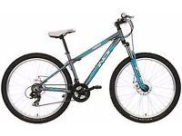 indi womans mountain bike 27.5 wheels