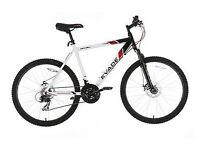 "Apllo Evade Mountain Bike 17"" New Schwalbe Hybrid Tyres & Disc Brake"