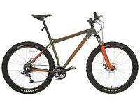 Carrera vendetta limited edition xc mountain bike fat bike 27.5 wheel sram