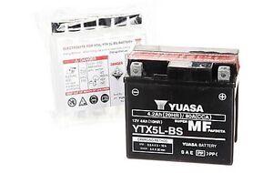 Batterie neuve YTX5L-BS pour Scooter moto vtt  auto électrique