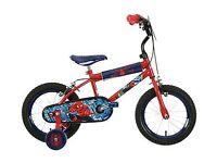 ***REDUCED***Boys 14 inch Spider-Man Bike Excellent Condition