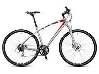 Men's 21inch hybrid bike