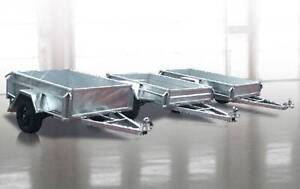 GALVANISED BOX TRAILERS (KING TOWBARS AND TRAILERS) Moonah Glenorchy Area Preview