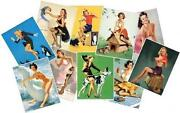 Vintage Glamour Postcards