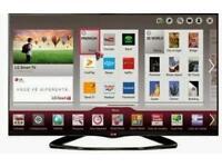 "LG 42"" LED smart wi-fi built HD freeview full HD 1080p"