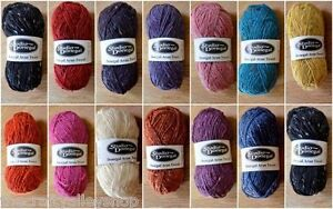 Studio-Donegal-Aran-Tweed-100-Pure-New-Irish-Wool-FROM-IRELAND-50g-Ball