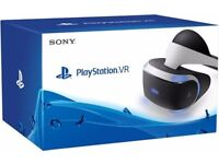 Ps4 vr headset used a few times comss with camera and 3 games