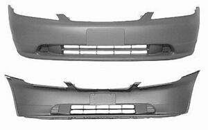 NEW 2001-2003 HONDA CIVIC FRONT BUMPER COVERS