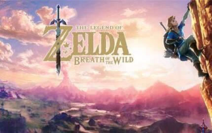 Wanted: Zelda breath of the wild. Nintendo Switch.