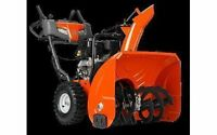 HUSQVARNA SNOW BLOWERS AVAILABLE!