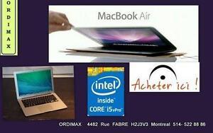 Apple  Macbook Air Intel i5  tres bon condition, comme neuf ,bon batterie