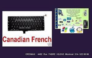 Apple Macbook Pro 13'' A1278 Clavier /Keyboard +Black light Neuf  Compatible Apple Macbook Pro Anne :2010 - 2011 - 2012