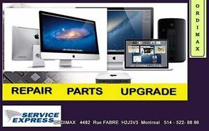 Diagnostic et Solution Réparations Pc, Portable , Apple plus SOS ORDINATEUR 514-522 8886
