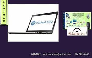 "Ultrabook HP EliteBook Folio 9470M,14"", Intel Core i5 ,Disque  Dur.SSD Window 10 / Window 7 Excellent product ultramince"