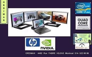 "HP ELITEBOOK 8760W 17.3"" Laptop Professionnel Intel i7  (4 Couer 8 Threads) /16GB/128SSD+500gbDD /VIDEO NVIDIA  2GB"