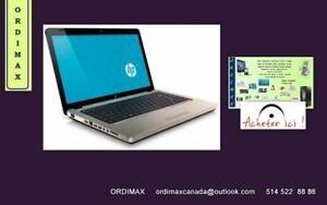 """Liquidation Laptop  Hp Pavilion G62  15.6"""" et Acer Aspire Processeur Intel, Graveur, USB, WIFFI  ,HDMI, WEB CAM, Tx inc."""