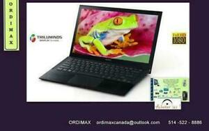 ULTRABOOK PROFESSIONEL INTEL I5 ACER ASPIRE S7/ SONY VAIO SVP132 / SAMSUNG LAPTOP TABLET / CONDITION A1