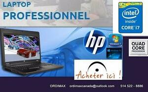 "HP ELITEBOOK 8560W Laptop Workstation Hp BussinnesProfessionnel 15"" Intel Core i7 Quad Core, 8Gb Ram,Video 2Gb Tx inc"