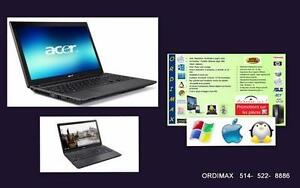 Laptop  Prix Spécial Taxes Inclui, Dell, Sony Vaio,Acer Aspire, Hp, Think Pad , Lenovo