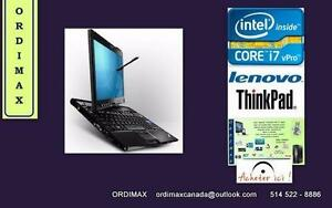 Intel Core i7 Lenovo Think Pad X201 Tablet - Laptop 12""