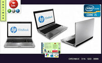 Intel i5 Hp ELITEBOOK 8460P Professionnel ligne Business tx inc