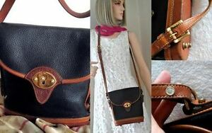 AUTHENTIC PRE OWNED DOONEY & BOURKE VINTAGE CROSS BODY BAG /USA North Shore Greater Vancouver Area image 7