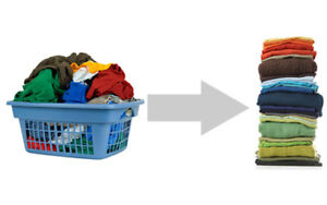 WASH AND FOLD SERVICES IN BURLINGTON ! Pick up and delivery !