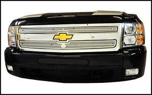 Precision Grill Inserts - 2007-13 Chevrolet Silverado 1500